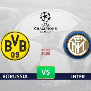 Borussia – Inter: Kursy bukmacherskie na LM