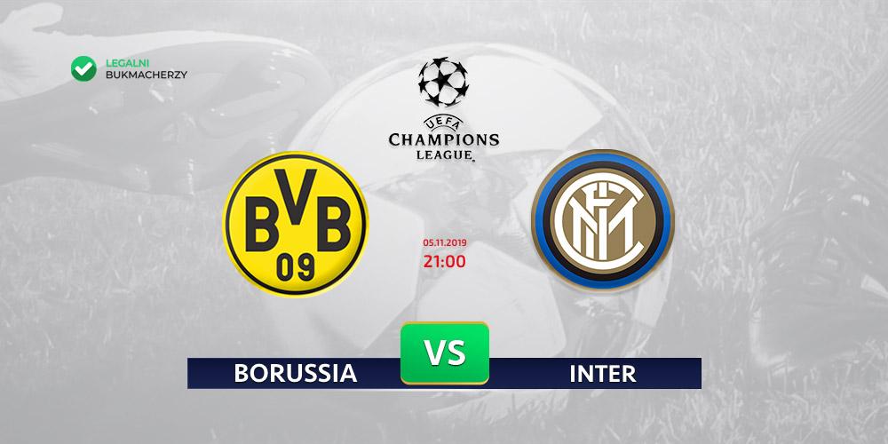 Borussia - Inter - kursy na LM