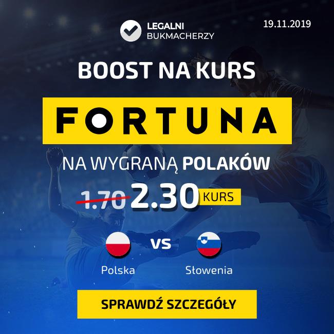 Wygrana Polaków w meczu ze Słowenią - kurs