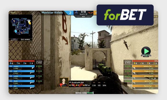 e-sport w forBET