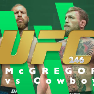 UFC 246 – Kursy bukmacherskie: McGregor – Cerrone