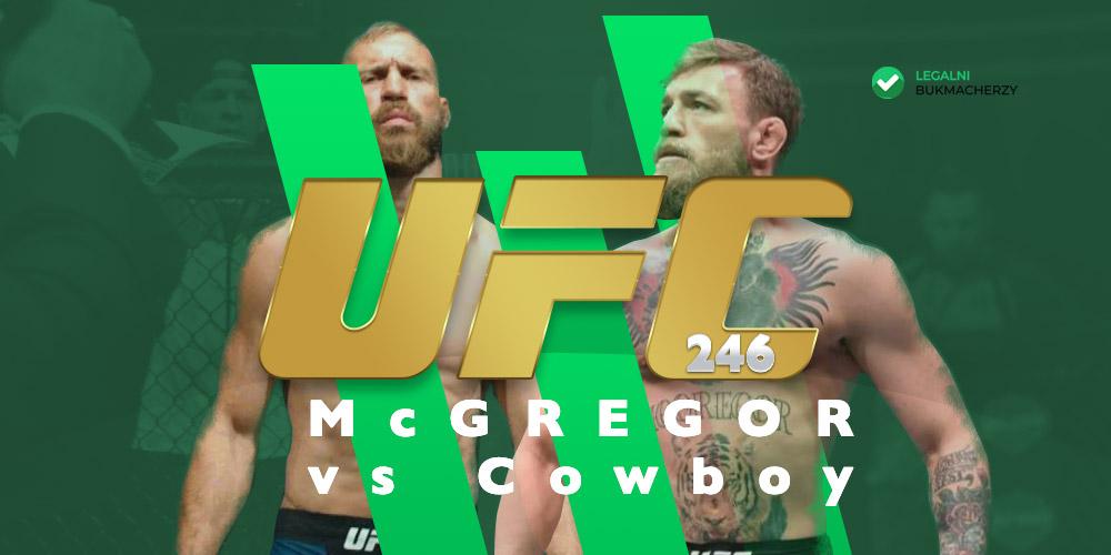 UFC 246 - kursy bukmacherskie