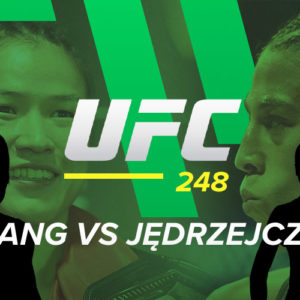 UFC 248: Jędrzejczyk – Zhang: kursy bukmacherskie