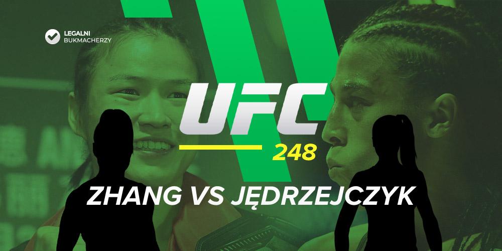 Zhang - Jędrzejczyk - UFC 248 - kursy