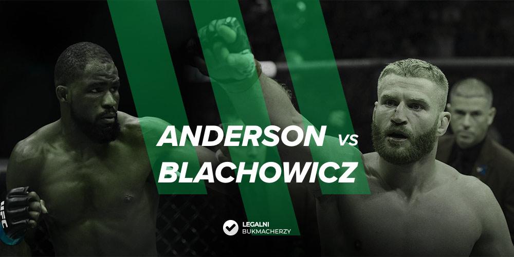 Anderson - Błachowicz - kursy