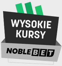 Noblebet - wysokie kursy