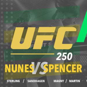 UFC 250 – zakłady bukmacherskie