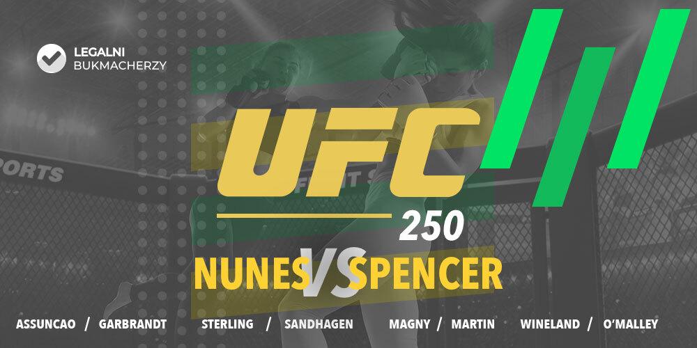 UFC 250 - zakłady