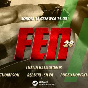 FEN 28 Lotos Fight Night – kursy bukmacherskie