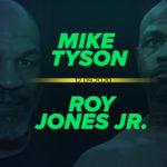 Mike Tyson – Roy Jones Jr. kursy bukmacherskie