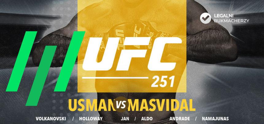 UFC 251 i Fight Night – kursy bukmacherskie