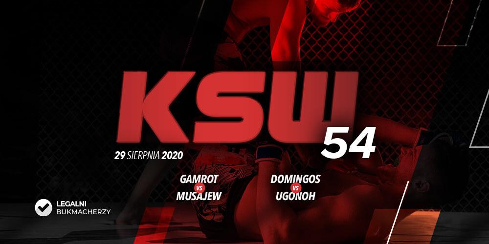 KSW 54 – kursy bukmacherskie