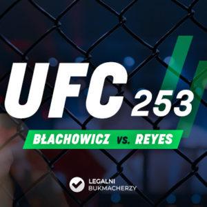 UFC 253: Błachowicz – Reyes kursy bukmacherskie