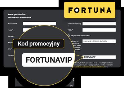 FORTUNA kod promocyjny