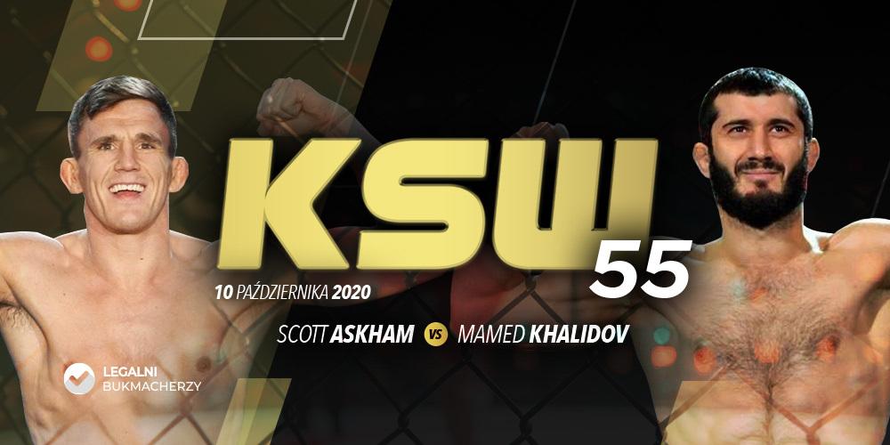 KSW 55: kursy bukmacherskie