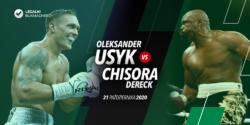 Oleksandr Usyk – Dereck Chisora – kursy bukmacherskie