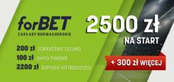 Kod promocyjny forBET – rejestracja 2021