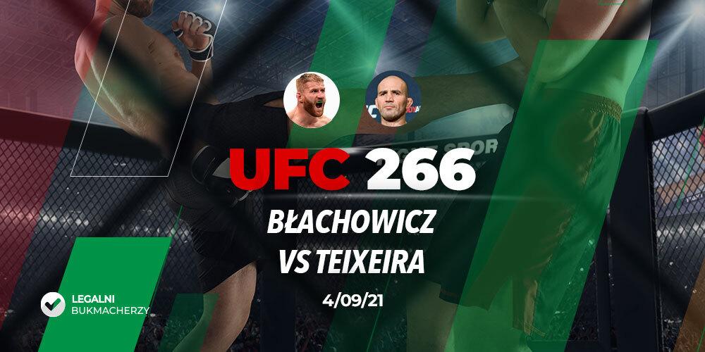Błachowicz – Teixeira – kursy bukmacherskie