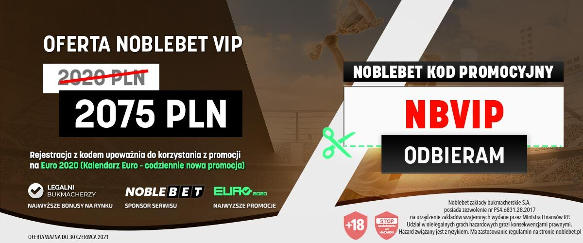 Noblebet kod promocyjny bonusy VIP