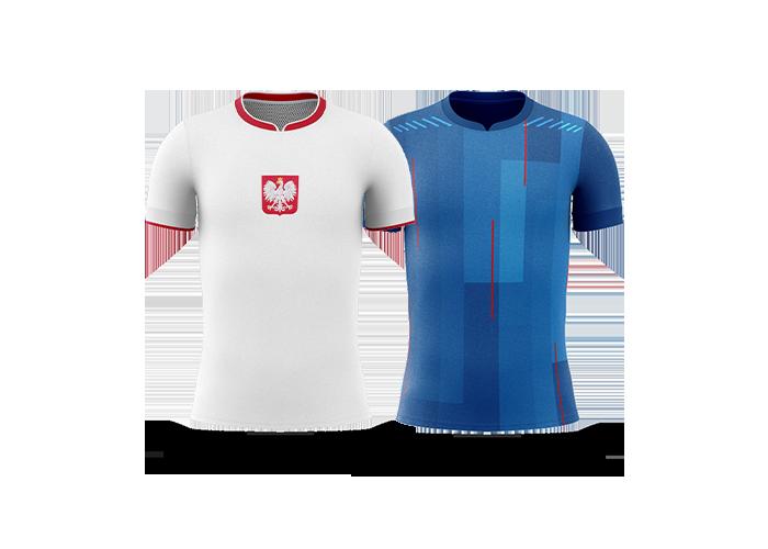Polska-Islandia-koszulki
