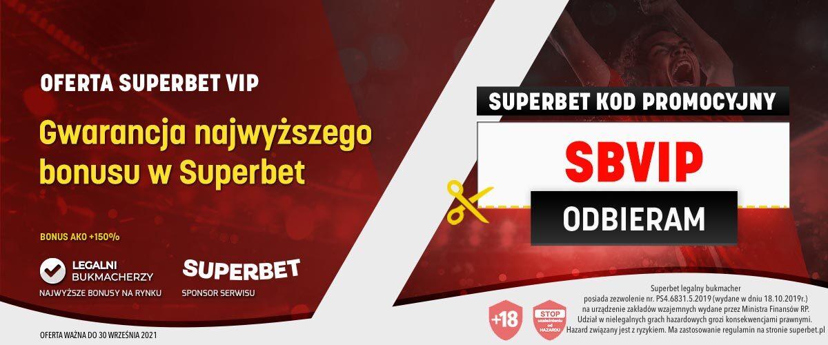 Superbet kod promocyjny VIP